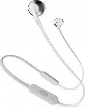 Jbl T205BT Auricolari Bluetooth Cuffie in ear con microfono Argento Tune 205BT