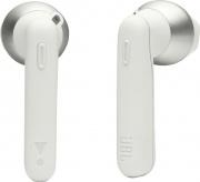 Jbl T220TWSWH Auricolari Bluetooth senza Fili Cuffie Touch con Custodia Bianco