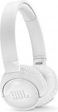 Jbl T600BT Cuffie Bluetooth Wireless noise canceling microfono Bianco -NC