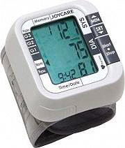 Joycare Misuratore pressione da polso 60 memorie Orologio Data JC-110