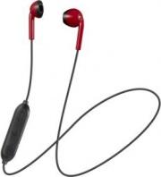 Jvc HA-F19BT-RBE Cuffie Bluetooth Sport Auricolari Wireless Stereo Nero Rosso