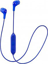 Jvc HA-FX9BT-A-E Auricolari con Microfono e Tasto di Risposta Cuffie Stereo Blu