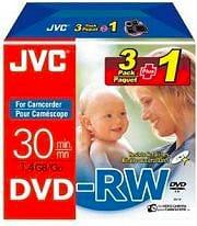 Jvc Confezione n° 4 DVD RW Vergini 1,4 Gb - VDW14DE3P1