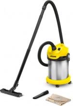 KARCHER 1.629-765.0 Bidone Aspiratutto Aspirapolvere Aspira liquidi 20 Lt WD 2 Premium