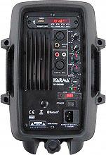 KARMA Casse Speaker 120W box amplificato Lettore USBSD Tuner FM - BX 6808