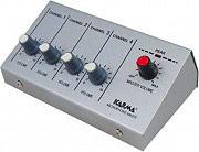 KARMA MX 2004 Mixer microfonico 4 canali Doppia Alimentazione Rete Batteria