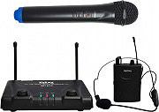 KARMA Set doppio radiomicrofono VHF palmare + lavalier - SET 6172PL-B