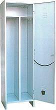 KETER SPORCOPULITO Armadietto Spogliatoio Armadio Metallo 1 posto 50x50x175H