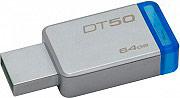 KINGSTON DT5064GB Pen Drive 64 GB Chiavetta USB Memoria USB 3.0 DT50 DataTraveler 50