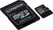 KINGSTON Micro SD 32GB Class 10 Scheda Memoria+Adattatore SDC10G232GB