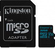 KINGSTON Scheda di Memoria MicroSD 32 Gb Classe 10 microSDXC Canvas Go! - SDCG2