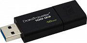 KINGSTON dt100g316gb Pen Drive 16 Gb Pennetta USB 3.0 colore Nero DT 100 G3 DataTraveler