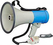 KARMA GT-1228 Megafono Potenza 15 Watt e Funzione Sirena e Fischietto