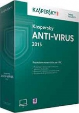 Kaspersky KL1161TBAFS Software Antivirus 2015 1U 1 Anno ITA Cd