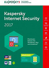 Kaspersky Software Antivirus Internet Security 2017 Dispositivi KL1941TBCFR7SLIM