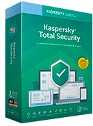 Kaspersky KL1949T5BF Antivirus 2019 Total Security 1 Utente 2 Anni Android KL1949T5B