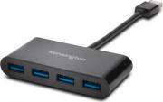 Kensington K39121EU Hub USB 3.0 4 porte USB 3.1 Type-A colore Nero