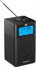 Kenwood CR-M10DAB-B Radiosveglia Digitale Radio DAB Potenza 3 Watt Bluetooth Nero CR-M10DAB