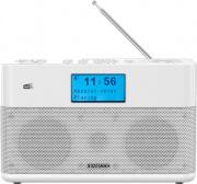Kenwood CR-ST50DAB-W Radiosveglia Digitale DAB Radio Analogica Potenza 6W Bianco