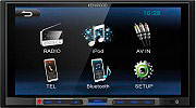 "Kenwood Autoradio Sintolettore 6,8"" Touch Bluetooth iPodiPhone USB RCA DMX100BT"