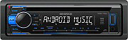 Kenwood Autoradio USB Android Sintolettore CD Mp3 Stereo auto 18W AUX KDC-110UB