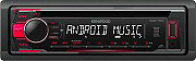 Kenwood Autoradio Android Stereo auto Lettore CD Mp3 18W USB AUX KDC-110UR