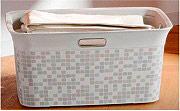 KIS 67090002555 Cesta per biancheria Plastica 59 cm 60 Litri Mosaic