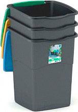 KIS 6713422 Set 3 pattumiere recycling Plastica 50 Litri