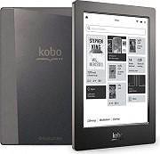 """Kobo Ebook Reader 6.8"""" 4Gb Ingresso MicroSDHC Wi-Fi AURA H2O 0F00340"""