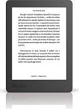 """Kobo Lettore eBook Display 6"""" Touch E Ink Carta HD 4Gb Wi-Fi USB - Aura"""