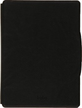 "Kobo N306-AC-BK-E-PU Cover Custodia eBook 6"" per Aura H2O Nero  Leather Black"
