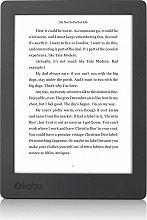 """Kobo Lettore e-book 6,8"""" Touch 8 Gb WiFi Impermeabile N867-KU-BK-K-EP Aura H2o"""