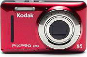 "Kodak FZ53RD Fotocamera Digitale Compatta 16 Mpx Display 2.7"" Video Rosso  PixPro"