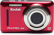 "Kodak Fotocamera Digitale Compatta 16 Mpx Display 2.7"" Video Rosso FZ53RD PixPro"