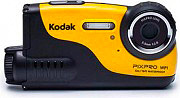 Kodak WP1-YL Action Cam Videocamera HD 17 Mpx Impermeabile USB Giallo