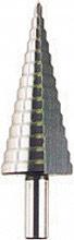 Krino 118306 Fresa Conica a Gradini per lamiera dimensioni 30x2 mm