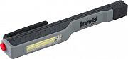 Kwb Torcia a LED COB Lampada da lavoro a penna con Clip Calamita 17.5 cm 948630
