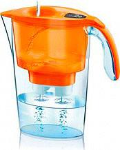 LAICA Caraffa Filtrante Depuratore Acqua 2,3 Litri colore Arancione J433 STREAM