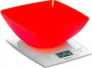 LAICA Bilancia Cucina Digitale Elettronica Max 3 Kg Arancione KS 1012O