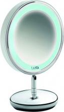 LAICA PC5004C Specchio Luminoso con LED ø 13 cm metallo cromato