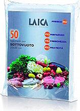 LAICA Confezione 50 sacchi sacchetti 20X30 Sottovuoto VT 3504