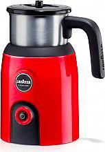 LAVAZZA Montalatte Cappuccinatore Latte CaldoFreddo 3 funzioni Rosso Milk Up