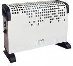LEWE Termoconvettore Stufa elettrica Riscaldamento 1800W Termostato CH09ET