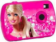 LEXIBOOK Fotocamera digitale compatta Bambini 1,3 Mpx CCD Barbie LE-DJ017BB