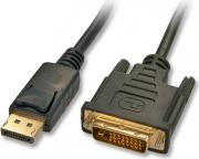 LINDY 41491 Cavo Adattatore DisplayPort a DVI-D 2m