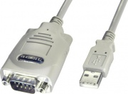 LINDY 42844 Usb Serial Converter 9 Way RS-422 1m Cavo Bianco