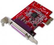 LINDY 51246 Scheda PCI Express Low Profile 1 Porta Parallela IEEE 1284
