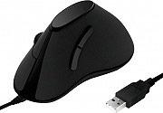 LOGILINK ID0158 Mouse USB Ottico colore Nero -  Ergonomic Vertical
