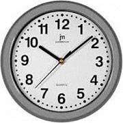 LOWELL Orologio da Parete ø 25 cm movimento al quarzo grigio Justaminute 00710G