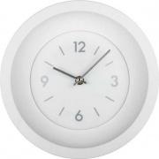 LOWELL 00838B Orologio da Parete ø 30 cm Movimento Continuo Bianco
